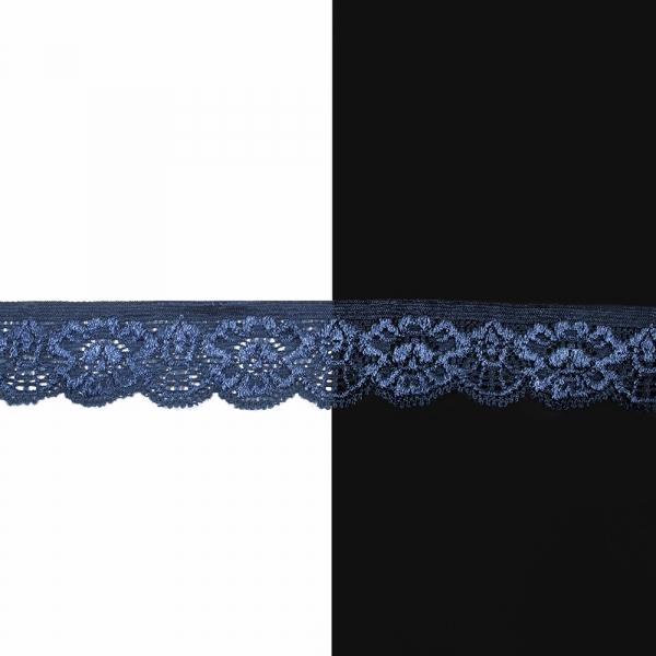Кружево 2 см, синее