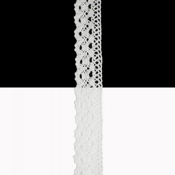 Кружево Кроше белое, 3.5 см