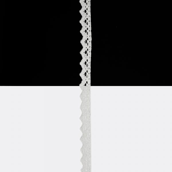 Кружево Кроше белое, 1,5 см