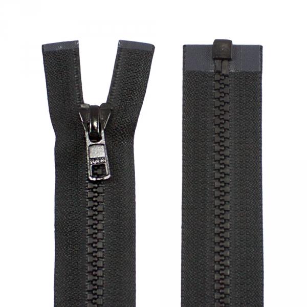 Молния YKK черная, 80 см