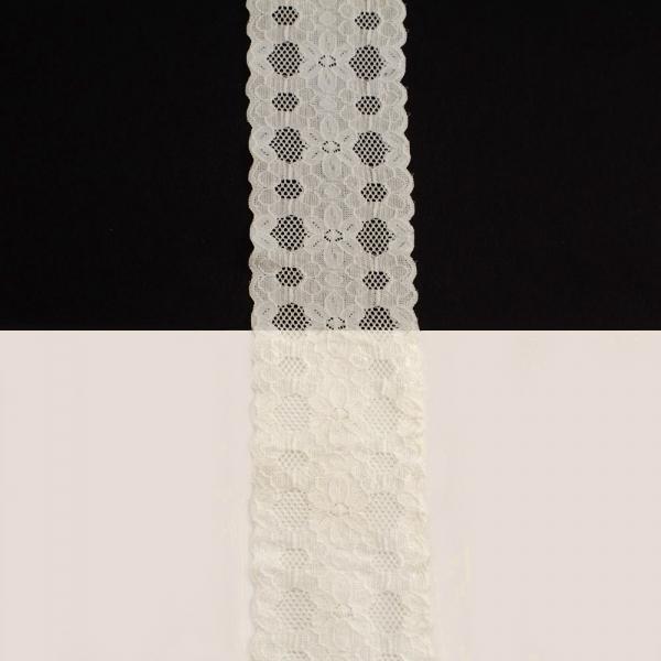 Кружево Италия молочное, 6 см
