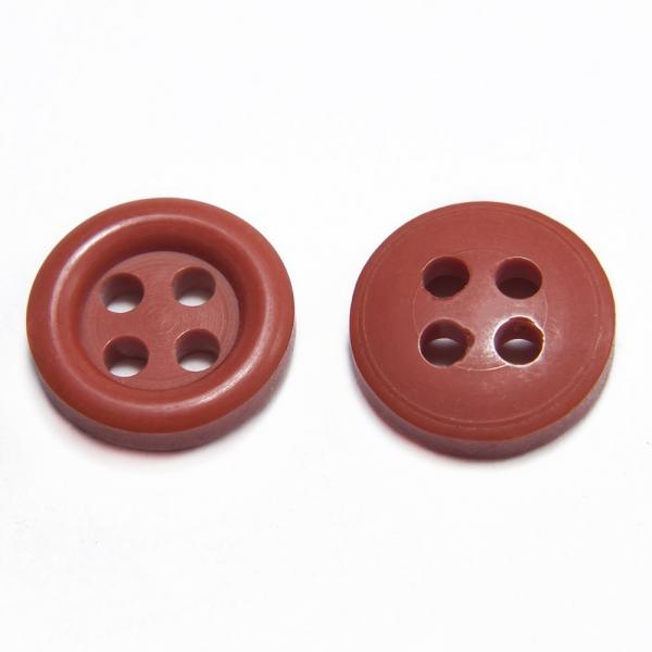 Пуговица бордовая, 10 мм