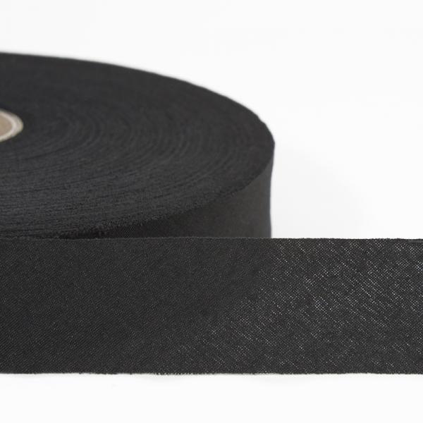 Лента х/б черная, 22мм
