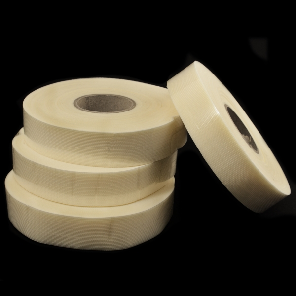 Лента сетка-бейка кремовая 28 мм