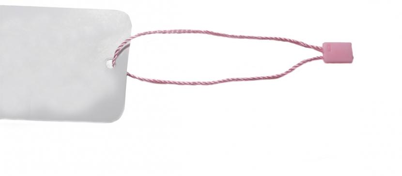 Мини-пломба розовая (1000 шт.)